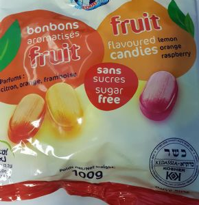 Sugar Free Fruit Flavoured Sweets.